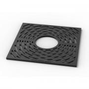 Grille d'arbre forme carrée - Dimensions (L x l) mm : 990 x 990