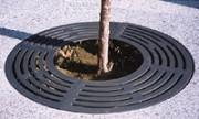 Grille d'arbre presto ronde - Galvanisation à chaud.