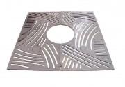 Grille de protection d'arbre en fonte ductile - Dimension extérieurs : de 1478 x 1478 - 1500 x 850 mm