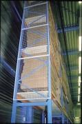Grille de rayonnage anti chute - Hauteur : 600 - 1000 - 1200 - 1500 mm