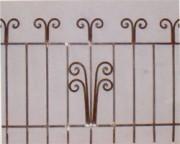 Grille métal sur muret - Grille sur muret