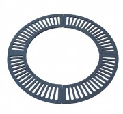 Grille ronde en fonte pour arbre - Diamètre (mm) : 1255