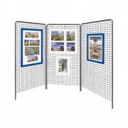 Grilles d'exposition en maille - Modulables H. 2 000 x L. 1 000 mm