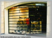 Grille de protection porte et rideau - Grilles de protection aluminium, acier ou bois