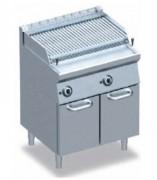 Grills à pierre de lave sur meuble - Puissance (W) : 8000 - 2 x 8000