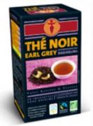Grossiste thé earl grey bio - Composition: 96.5 % thé noir Darjeeling, 3,5 % extraits naturels de bergamote