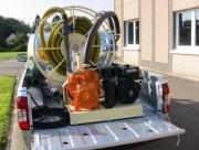 Groupe de pompage et station de lavage - Poids approximatif à vide : 450 kg - 550 kg - 650 kg