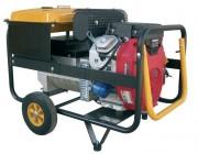 Groupe électrique transportable 10 KVA - Démarrage électrique - Puissance max. : 12,5 KVA / 10000 W.