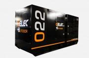 Groupe électrogène Diesel 22 YC - PRP Puissance Permanente : 20 kVA/16 kW  -  ESP Puissance secours : 22 kVA/17.6 kW