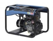 Groupe électrogène diesel à démarrage électrique - Sécurité manque d'huile - Autonomie : 17,8 heures