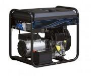Groupe électrogène diesel grand réservoir - Démarrage Electrique - Autonomie : 16.7 Heures