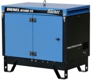 Groupe électrogène gasoil max. 5,20 kw - Portable - Tension nominale : 400 V