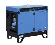 Groupe électrogène mobile triphasé - Puissance Max : 5200 W - Démarrage électrique
