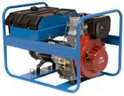 Groupe électrogène portable ECO6500, 5.4 kVA DIESEL - GAMME ECONOMIQUE, ELEC START