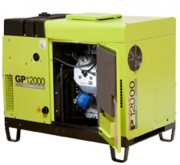 Groupe electrogéne professionnelle & silencieux GP5000, 5.32 kVa - GAMME GP