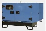 Groupe électrogène triphasé - Démarrage électrique - Autonomie : 9,60 heures