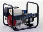 Groupe électrogène triphasé à 400V - Puissance max : 5,70 Kw - Carburant : Essence