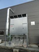 Groupe ensacheur pour filtration bois ou plastique - Plage de débit variant de 1 000 à 12 500 m³/h