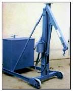 Grue atelier hydraulique 500 kg - Portée : 500 kg à 1 m - 200 kg à 1.80 m