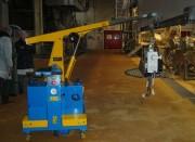 Grue atelier hydraulique - Portée : de 100 à 750 Kg
