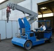 Grue automotrice télescopique - Système de levage breveté - Portée jusqu'à 50 000 Kg