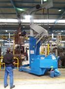 Grue changement des moules - Pour des presses avec force de fermeture  de 180 à 2.400 T