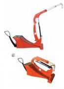 Grue contreproids - Petite grue en porte-à-faux – avec contrepoids – design moderne ITI500N