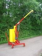 Grue d'atelier à rotation totale - Portée : 500 kg à 1 m - 200 kg à 1.80 m