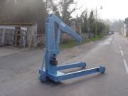 Grue d'atelier chassis en H - Portée 3000 kg à 1.48 m - 1200 kg à 2.38 m