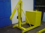 Grue d'atelier démontable - Portée 1000 kg à 1 m - 400 kg à 1. 80 m