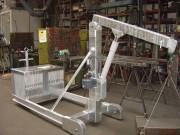 Grue d'atelier industrielle