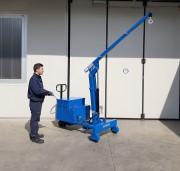 Grue d'atelier mobile - Capacité de charge maxi : 600 Kg