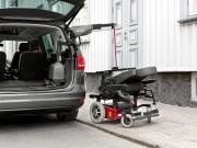 Grue de coffre pour fauteuil roulant - Alternative à la plateforme élévatrice ou au coffre de toit