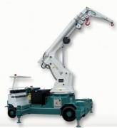 Grue de levage hydraulique - Hauteur de levage :  de 7 à 15 m