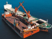 Grue de navire - Force de levage : 30 t