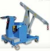 Grue hydraulique - Portée max : 750 Kg - Fermeture jusqu'à 180 t
