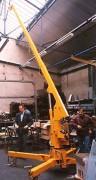 Grue hydraulique d'atelier - Capacité flèche : 500 - 1000 kg
