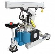 Grue industrielle à traction électrique - Charge maxi. 2160 kg - Tous chemins