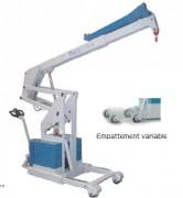 Grue industrielle cinématique - Charge maxi. 2000 kg