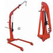 Grue industrielle repliable - Grue légère à longerons parallèle, repliable L1500