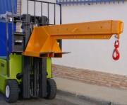 Grue pour chariot - Capacité de 5000 kg - (L x l x h) : 257 x 52,5 x 62 cm