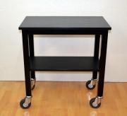 Guéridon de service restauration - Chêne noir - Dimensions : L 70 x l 40 x h 75 cm