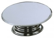 Guéridon pâtissier diamètre 20 cm - Dimensions (Diam x H) : 20 x 5 cm