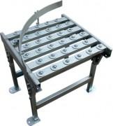 Guidage latéral incurvé - Tables avec plaques à billes