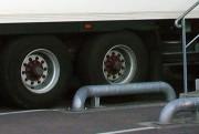 Guide de camion - Tube d'acier de diamètre (mm) : 140