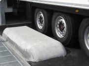 Guide roues pour quai - Pour l'accostage des camions