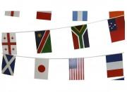 Guirlande drapeaux publicitaire - Drapeaux standards de 20x30 cm