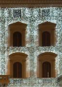 Guirlande lumineuse rideau LED - Lumière flash - Eclairage LED, lumière flash, lot de 4