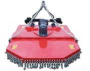 Gyrobroyeur 3 lames - Largeur de travail : 1,30 m à 1,80 m - Tracteurs de 50 à 80 CV.