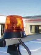 Gyrophare pour véhicule utilitaire - A moindre consommation d'énergie électrique
